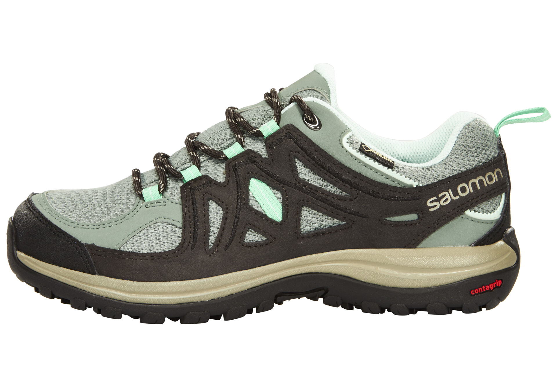 Salomon Ellipse 2 GTX Hiking Shoes Damen light ttasphaltjade green